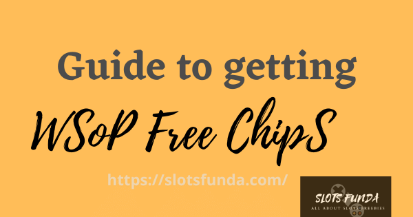 guide for wsop chips